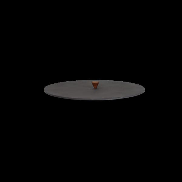 Tapa barbacoa redonda