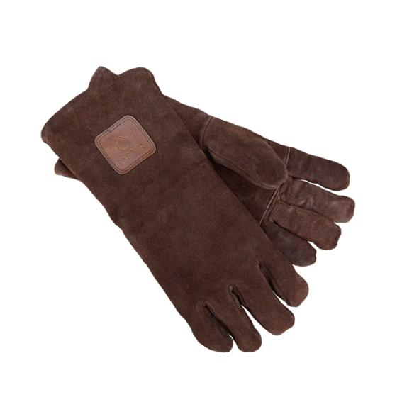 guantes ofyr piel proteccion talla unica Guantes de gamuza especiales para barbacoa