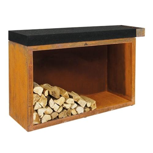 madera carnicero bloque